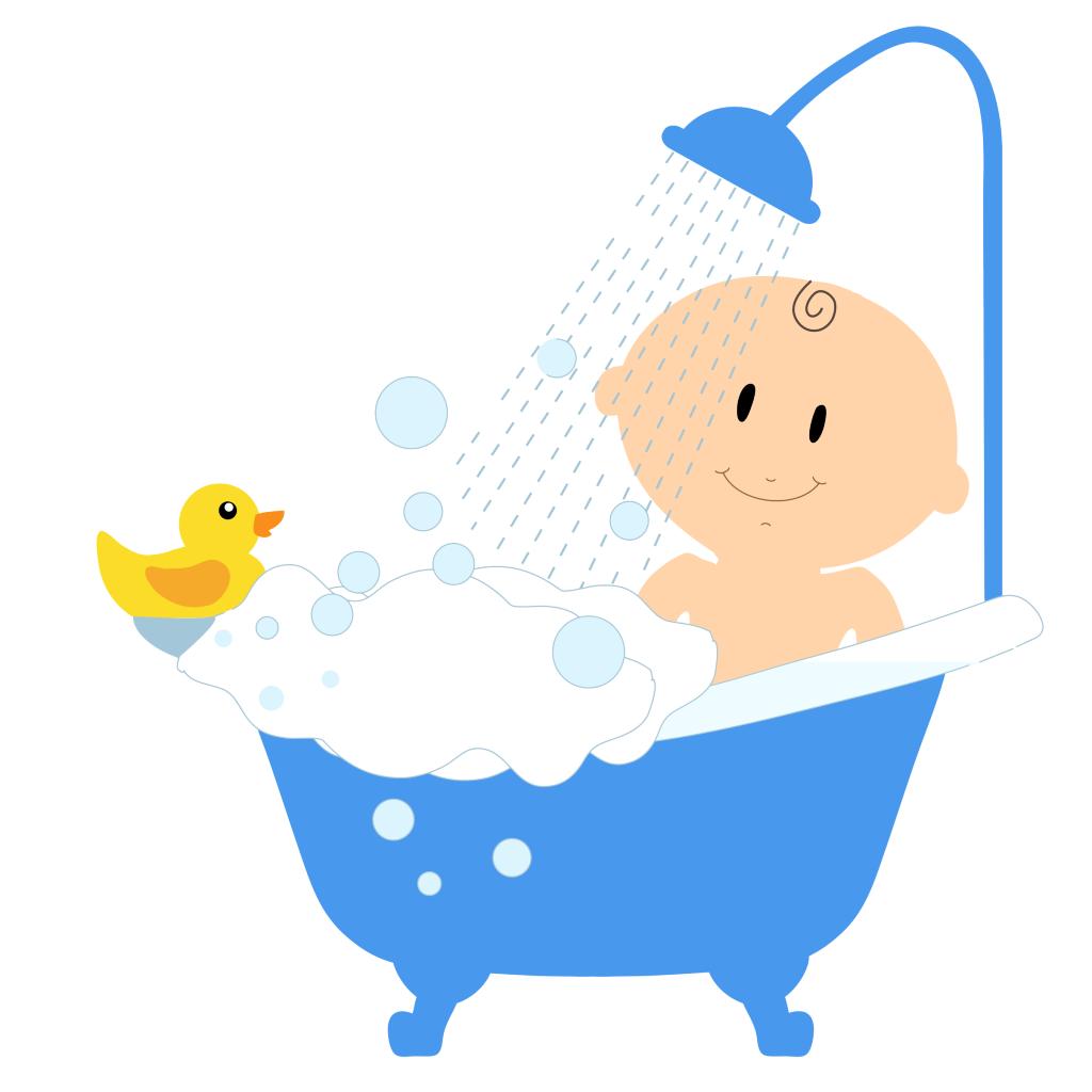 Tid til første bad